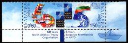 Bulgarie Bulgaria 4213A/B OTAN - OTAN