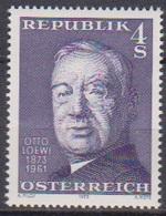 Österreich 1973 Nr.1414 ** Postfr. 100.Geb. Otto Loewi ( 9206 ) Günstige Versandkosten - 1971-80 Neufs