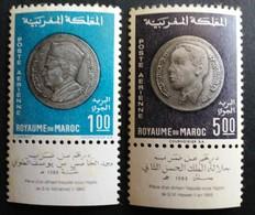 Marruecos: Año. 1969 - Aereos. ( Moneda Nacional ) D. 11 - 1/2 - Maroc (1956-...)