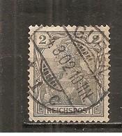Alemania-Germany Yvert 51 (usado) (o) - Germany