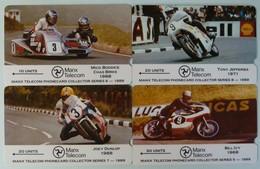 ISLE OF MAN - GPT - 3I0MA To D - TT Races - Set Of 4 - Mint - Man (Eiland)