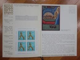 REPUBBLICA - Erinnofili - Pubblicazione Del Poligrafico Dello Stato Con Foglietto Expo Italia '76 + Spese Postali - Erinnofilia