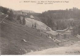 Macot Savoie Les Mines Argentifères De La Plagne - France