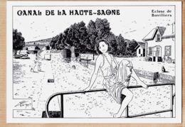 X90003 Dédicace BERG BAVILLIERS Canal MONTBELIARD à HAUTE SAONE Ecluse Belles Eclusières 27bis Tirage 250ex - France