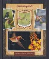 W636. Sierra Leone - MNH - 2016 - Fauna - Animals - Birds - Hummingbirds - Bl - Autres