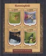 W636. Sierra Leone - MNH - 2016 - Fauna - Animals - Birds - Hummingbirds - Autres