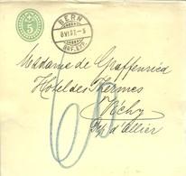 POSTKARTE 1907 BERN - Entiers Postaux