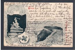 Litho AK Gruss ... 1902 Gel - Suisse