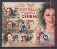 S636. Mozambique - MNH - 2012 - Famous People - Cinema - Actors - Célébrités