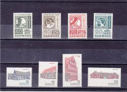 DANEMARK 1972 Yvert 541-548 NEUF** MNH - Danemark