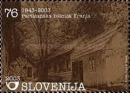 ESLOVENIA 2003 - SLOVENIE - PATRIMONIO - HOSPITAL DE GUERRA - YVERT Nº 410** - Slovénie