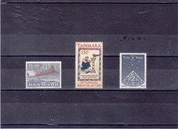 DANEMARK 1973  Yvert 556-558 NEUF** MNH - Danemark