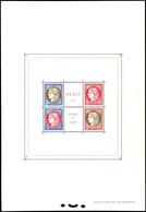 1937, Blockausgabe PEXIP Paris, Postfrisch, Unsigniert, Eckbüge, Herzstück Tadellos, Mi. 600.-, Katalog: Bl.3 ** - Frankreich