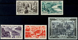 Flugpostmarken Komplett Tadellos Postfrisch, Mi. 230,--, Katalog: 861/65 ** - Frankreich