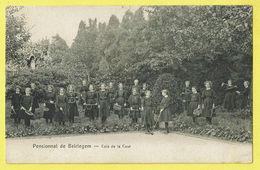 * Beirlegem - Beerlegem (Zwalm) * Pensionnat De Beirlegem, Coin De La Cour, école, School, Filles, Grotte, Unique, TOP - Zwalm