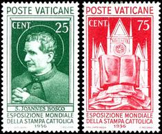 """1936, 5 C. Bis 5 L. """"Weltausstellung Der Katholischen Presse"""", Kompletter Satz Mit 8 Werten, Tadellos Postfrisch, Mi. 50 - Vatikan"""