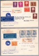 Nederland, 1953/4, 's-GRAVENHAGE-São Paulo - Covers & Documents