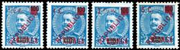 Kionga, ½, 1, 2½ Und 5 C. Je Auf 100 R., 4 Werte Kpl., Ungebr., Katalog: 1/4 (*) - Mosambik