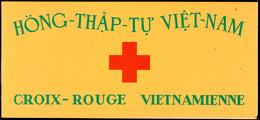 1952, Rotes-Kreuz-Markenheftchen Tadellos Postfrisch, Mi. 200,--, Katalog: 88MH ** - Vietnam