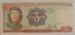 Billet De Cuba De 3 Pesos 1995 Pick 113 Neuf/UNC - Cuba