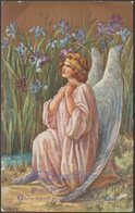 Greetings - A Happy Easter, 1911 - Tuck's Oilette Postcard - Easter