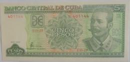 Billet De Cuba De 5 Pesos 2001 Pick 116 Neuf/UNC - Cuba
