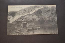 Carte Postale 1910 Embarcadère Sur Le Lignon - France