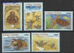 Cape Verde 2002 Mi 809-813 MNH ( ZS5 CPV809-813 ) - Turtles