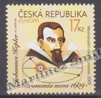 Czech Republic - Tcheque 2009 Yvert 535, Europe - Astronomy - Joannes Kepler MNH - Nuevos