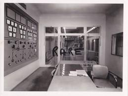PHOTO ANCIENNE,MINE,MINEUR,OUVRIER,73,74,SAVOIE,1953,CONSTRUCTION CENTRALE ELECTRIQUE SOUTERRAINE,RANDANS,ISERE,ARC, - Places