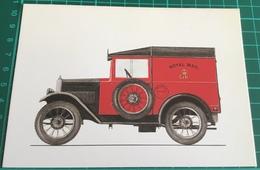 """Royal Mail ~ 1933 ~ Morris Minor Van ~ Wheelbase 6' 6 5/8"""" - Trucks, Vans &  Lorries"""