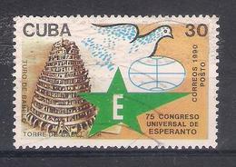 Cuba 1990 Mi Nr  3370 Esperanto   (a3p20) - Esperanto