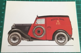 "Royal Mail ~ 1936 ~ Morris 8 ~ Series 1 ~ Wheelbase 7' 6"" ~ First Produced In 1934 - Trucks, Vans &  Lorries"