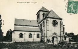 Cpa Boult Sur Suippes (51) L'Eglise - Altri Comuni