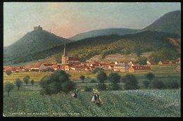 Hambach Mit Maxburg Neustadt Haardt Oilette Tuck's Postkarte Ungestaute Karte - Neustadt (Weinstr.)