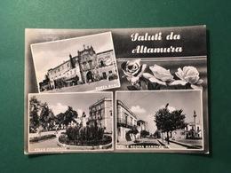Cartolina Saluti Da Altamura - Porta Bari - Villa Comunale - 1966 - Bari