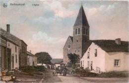 Belgique - Herbeumont - L' Eglise - Attelage De Chiens - Couleurs - Herbeumont