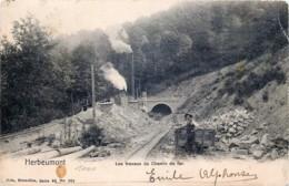 Belgique - Herbeumont - Les Travaux Du Chemin De Fer - Herbeumont