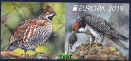 Protected Birds - Bulgaria/ Bulgarie 2019 Year - Booklet MNH** - Vögel