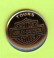 Pin's Tours Guide Motor Harley Davidson Cycles - 3W26 - Motos