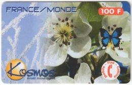 FRANCE C-457 Prepaid Kosmos - Plant, Flower - Used - Frankreich
