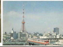 CPM , Japon -Tokyo - Tower And Tokyo , Monokan , Ed. NBC, 1976 - Tokyo