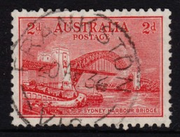 Australia 1932 Sydney Harbour Bridge 2d Litho. Used - FRANKSTON, VIC - 1913-36 George V : Other Issues