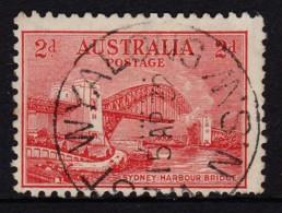 Australia 1932 Sydney Harbour Bridge 2d Litho. Used - WEST WYALONG, NSW - 1913-36 George V : Other Issues