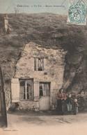 60/ Créil- Un Tuf - Maison Souterraine - écriite Ne 1904 - - Creil