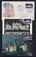 FRANCE - FR1321 - FDC - 1952 - Chambord - 45 € - FDC