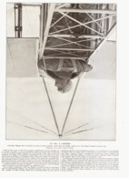 """LE VOL A L'ENVERS  De L 'AVIATEUR   """" PECOUD """"  1913 - Transportation"""