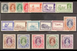 1937-40  Complete Set, SG 247/64, Superb Never Hinged Mint, Very Fresh Colours And Superb Fresh White Gum, Very Attracti - India