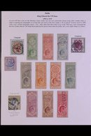 TELEGRAPHS STAMPS & HISTORY.  A BEAUTIFUL COLLECTION Informatively Written-up And Nicely Presented Includes Postage & Te - India