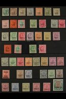 CHAMBA  1887-1936 ALL DIFFERENT MINT COLLECTION Presented On A Stock Page That Includes 1887 QV Set To 1r, 1903-05 KEVII - Unclassified